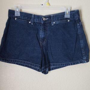 EUC L.E.I. junior Blue Jean Short Shorts, size 9